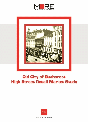 Old City of Bucharest - High Street Retail Market Study (cover)