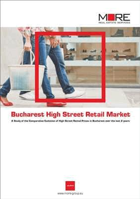 Bucharest High Street Retail Report (cover)